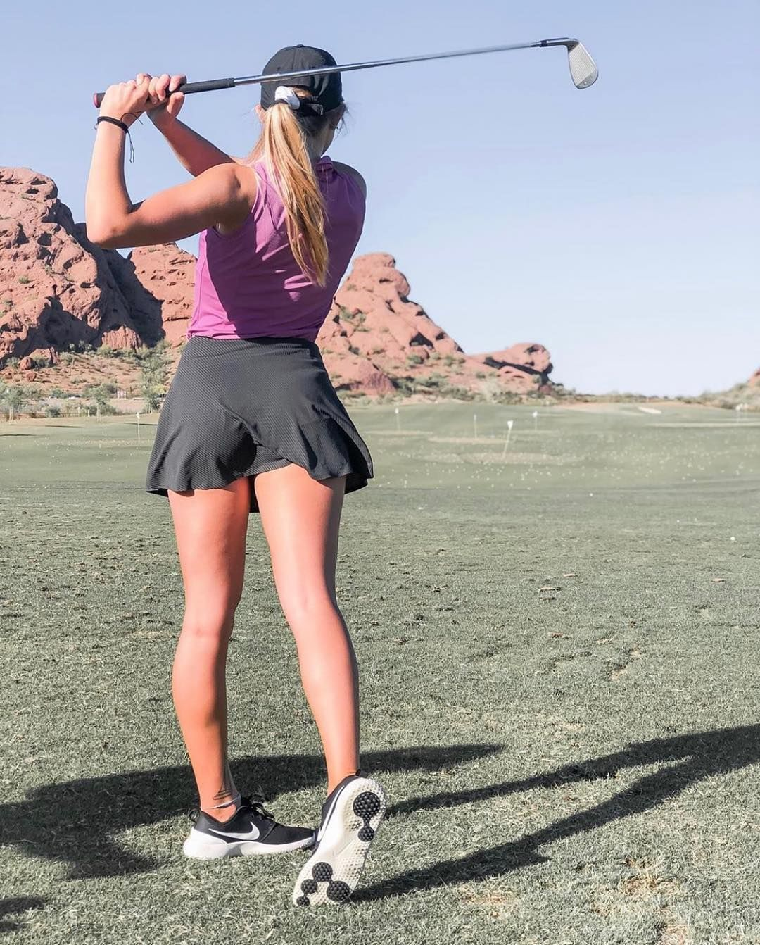 Pics of girls at golf games up skirts pic