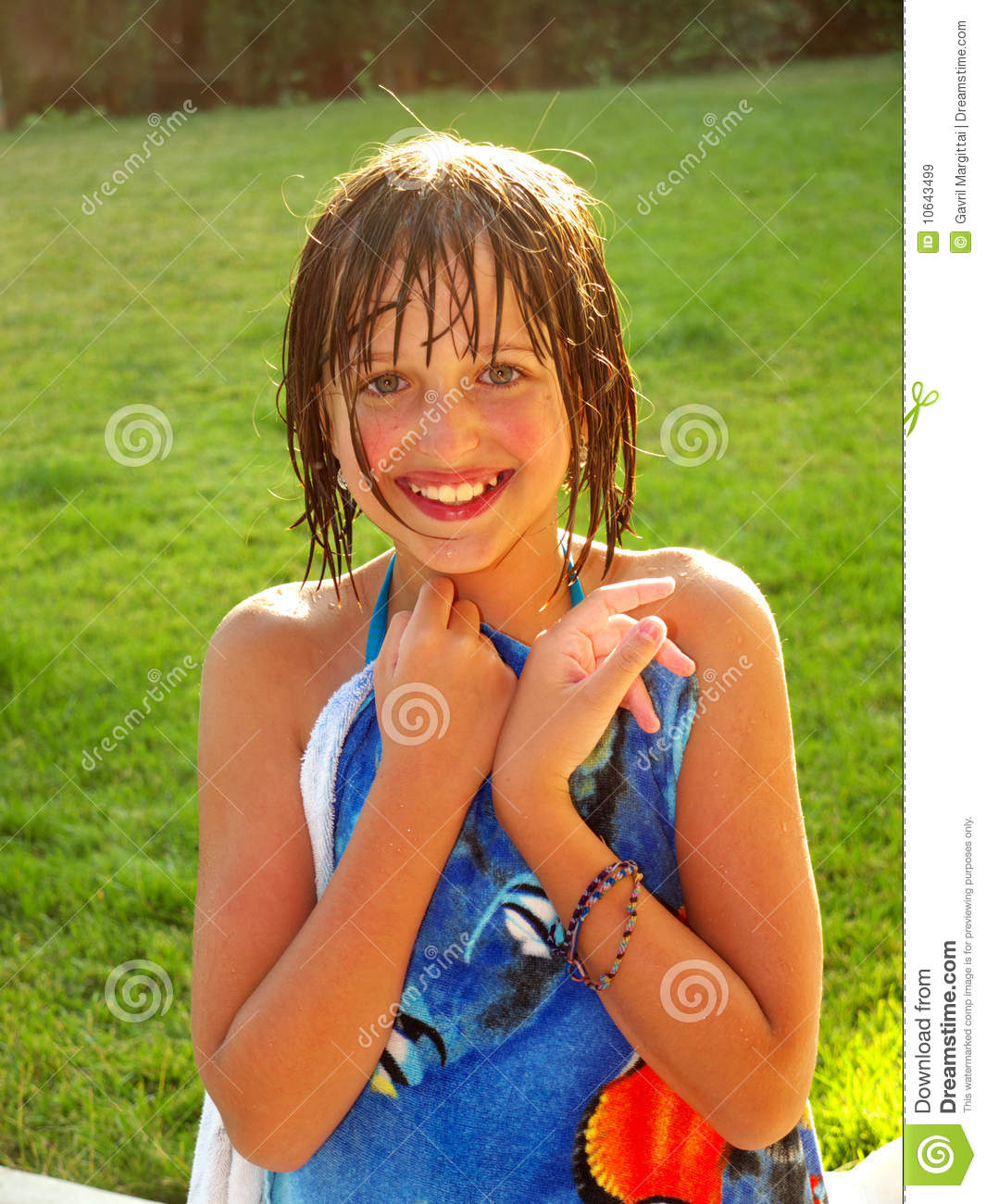 Girls who are wet