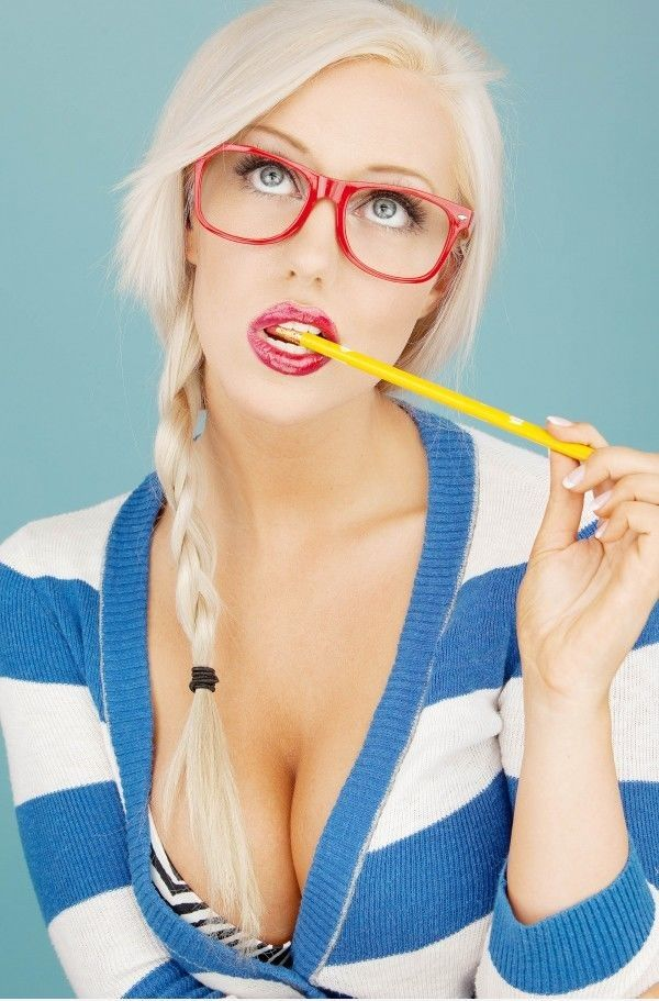 Sexy chat glasses girl